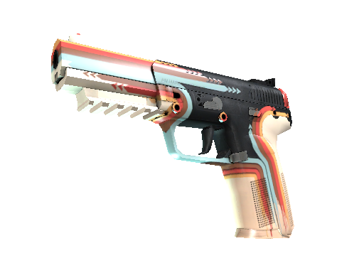 Five-SeveN (StatTrak™) | Retrobution (Minimale Gebrauchsspuren)