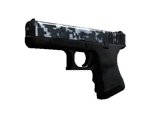 Glock-18 (StatTrak™) | Steel Disruption (Fabrikneu)