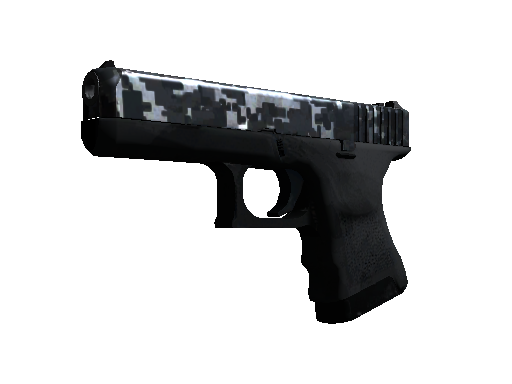 Glock-18 (StatTrak™) | Steel Disruption (Einsatzerprobt)