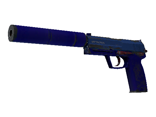 USP-S (Souvenir) | Royal Blue (Einsatzerprobt)