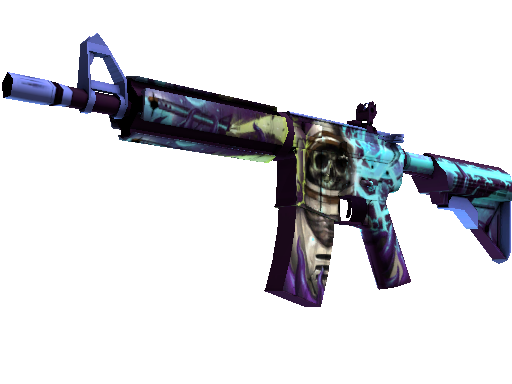 M4A4 (StatTrak™) | Desolate Space (Minimale Gebrauchsspuren)