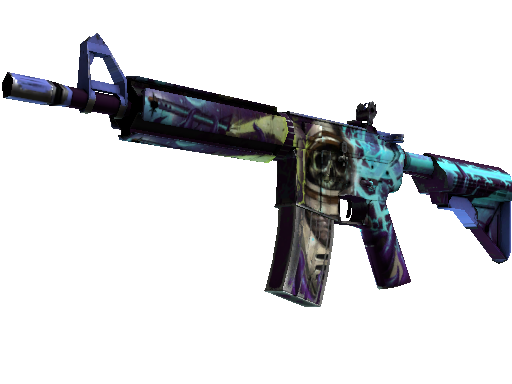 M4A4 (StatTrak™) | Desolate Space (Kampfspuren)