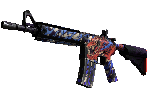M4A4 (StatTrak™) | 龍王 (Dragon King) (Einsatzerprobt)