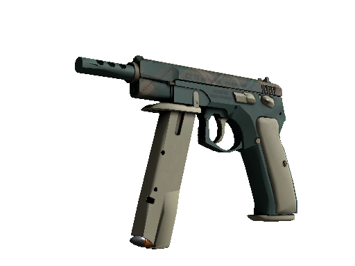 CZ75-Auto | Green Plaid (Fabrikneu)
