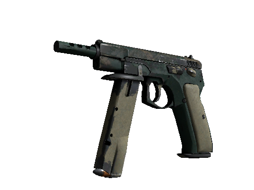 CZ75-Auto | Green Plaid (Kampfspuren)