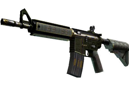 M4A4 (StatTrak™) | The Battlestar (Fabrikneu)
