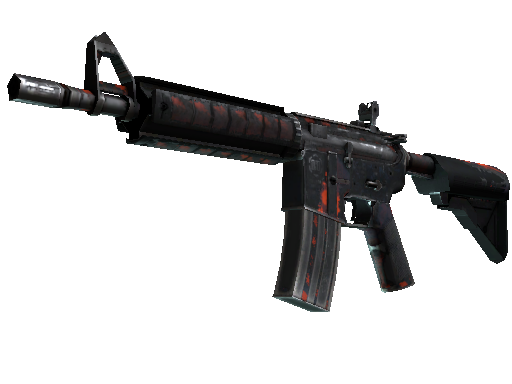 M4A4 | Radiation Hazard (Kampfspuren)