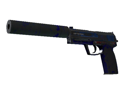 USP-S | Royal Blue (Kampfspuren)