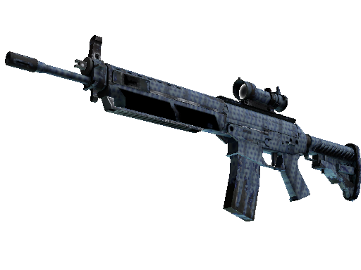 SG 553 | Waves Perforated (Abgenutzt)