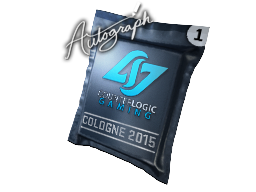 Autogrammkapsel | Counter Logic Gaming | Cologne 2015
