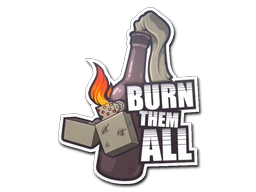 Aufkleber | Burn Them All