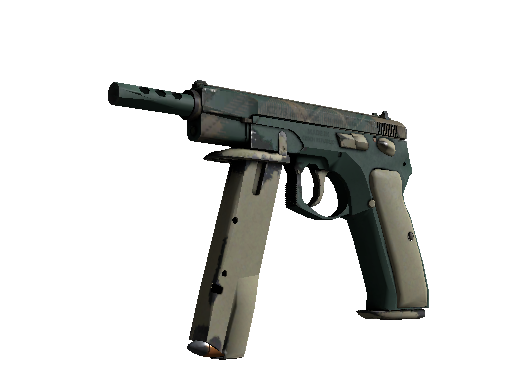 CZ75-Auto | Green Plaid (Einsatzerprobt)