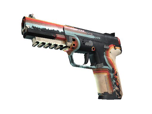 Five-SeveN (StatTrak™) | Retrobution (Kampfspuren)