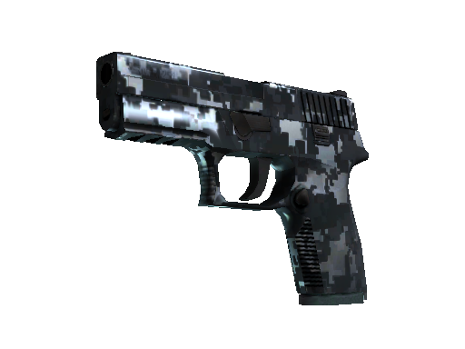 P250 (StatTrak™) | Steel Disruption (Minimale Gebrauchsspuren)