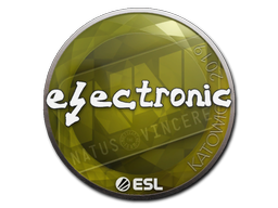 Aufkleber Electronic Kattowitz 2019 Sticker Fifa