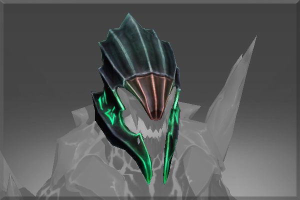 Inscribed Obsidian Guard Helm