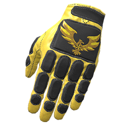 Golden Eagle Padded Gloves