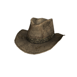 Tan Leather Outback Hat
