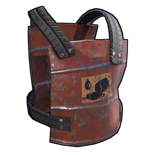 Oil Barrel Chest Plate
