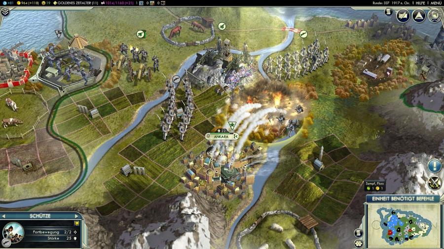 Civilization V (5) - Gods & Kings (Addon) Screenshot 3