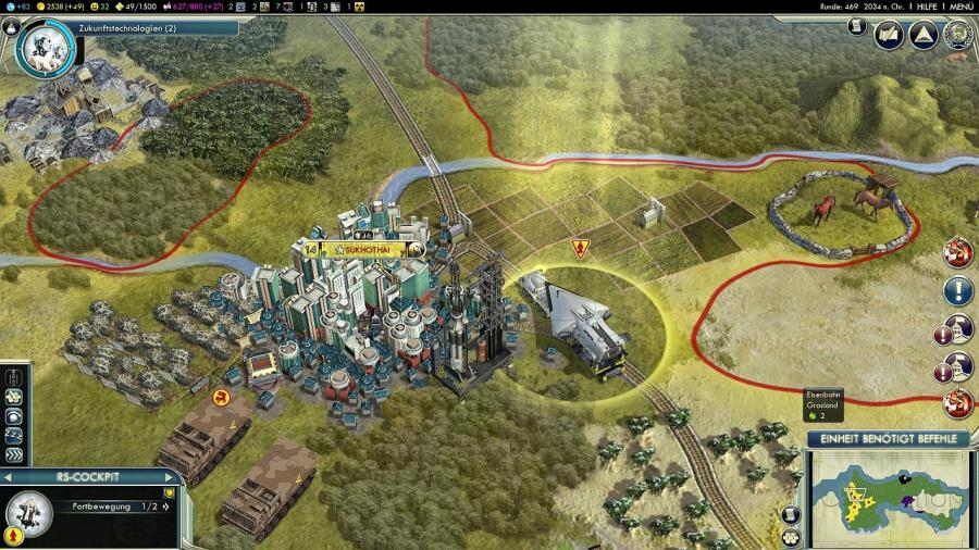 Civilization V (5) - Gods & Kings (Addon) Screenshot 4