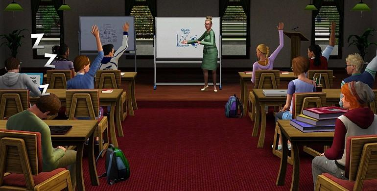 Die Sims 3 - Wildes Studentenleben (Addon) Screenshot 1