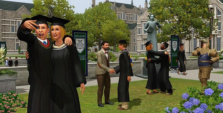 Die Sims 3 - Wildes Studentenleben (Addon) Screenshot 6