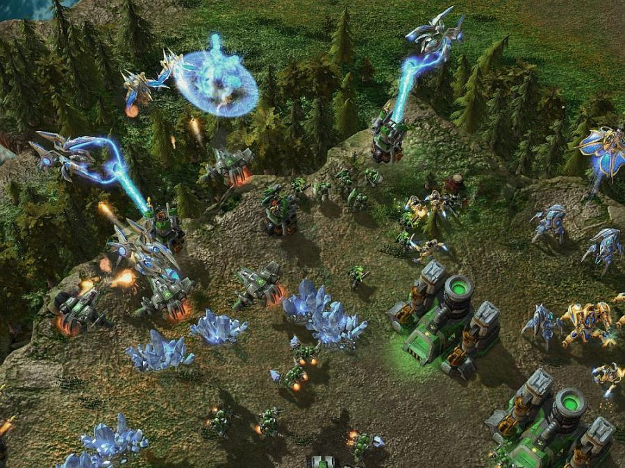 Starcraft 2 + Starcraft 2 Heart of the Swarm (Addon) Screenshot 1