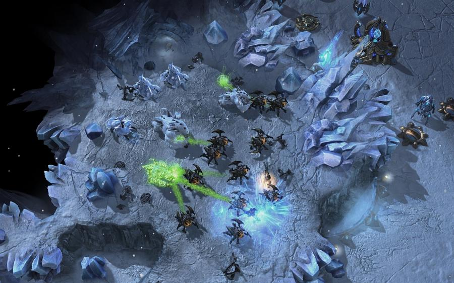 Starcraft 2 + Starcraft 2 Heart of the Swarm (Addon) Screenshot 6