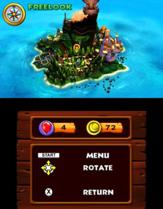 Donkey Kong Country Returns - 3DS Screenshot 4