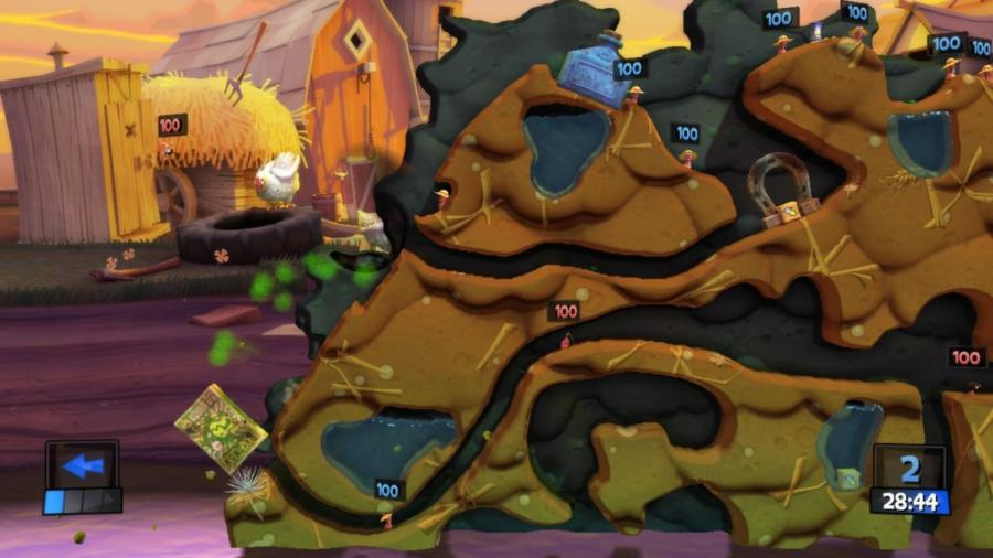 Worms Revolution Screenshot 2