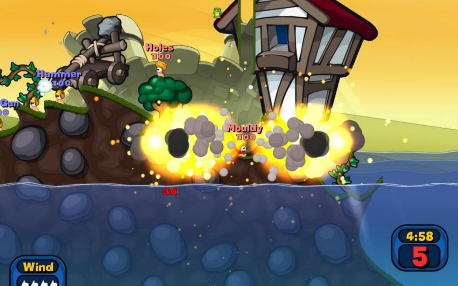 Worms Reloaded Screenshot 2
