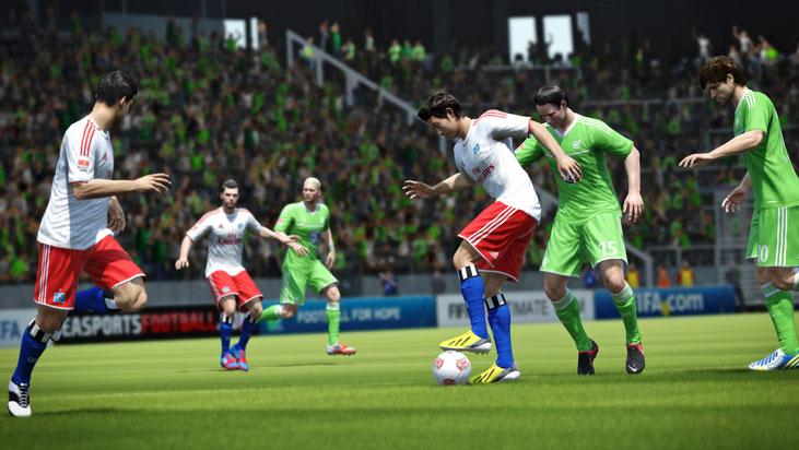 FIFA 14 - PS3 [DE] Screenshot 2