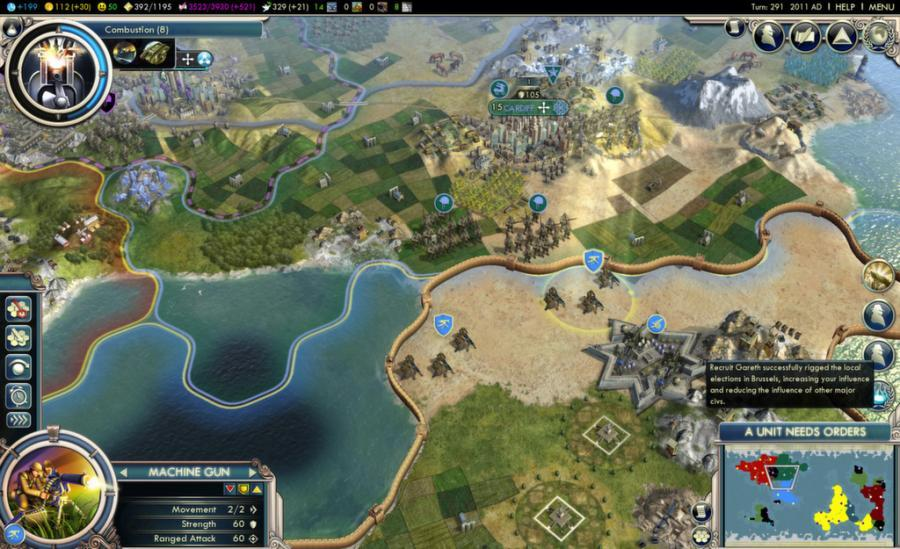 Civilization V (5) - Game of the Year Edition Screenshot 1