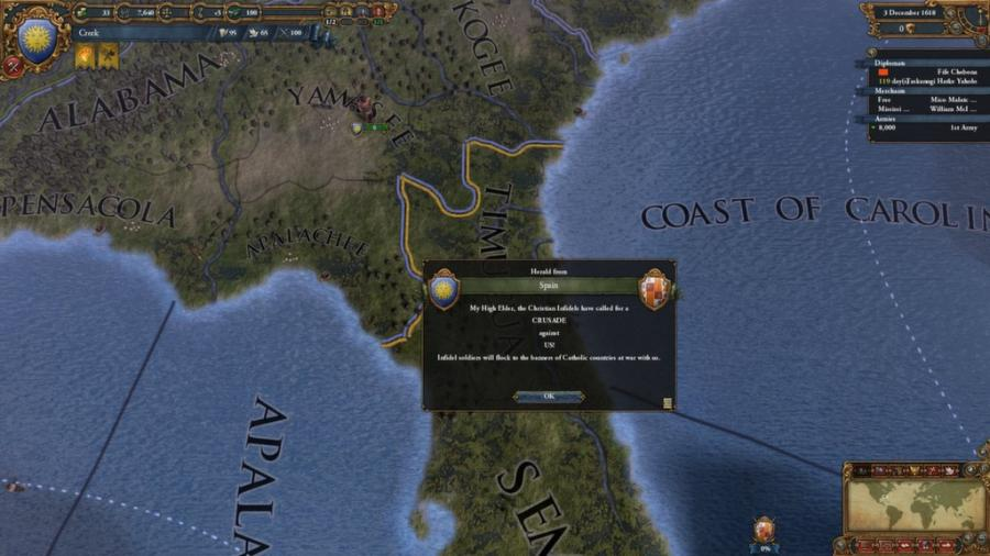 Europa Universalis IV - Conquest of Paradise (Addon) Screenshot 4