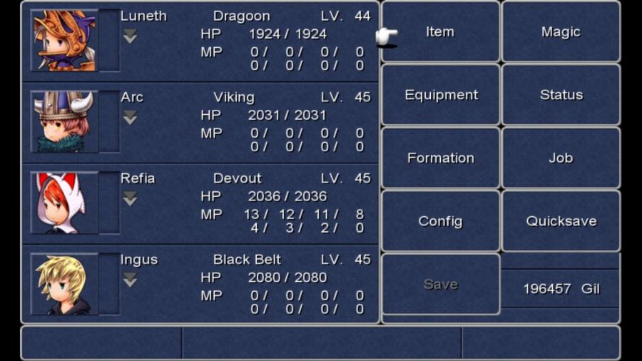 Final Fantasy III (3) Screenshot 6