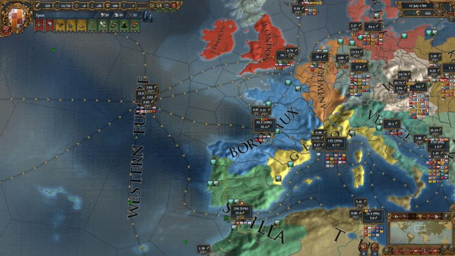 Europa Universalis IV - Wealth of Nations (Addon) Screenshot 5