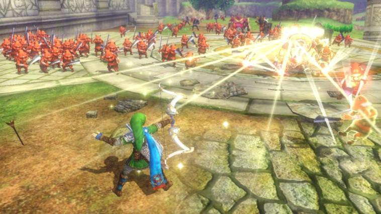 Hyrule Warriors - Wii U Download Code Screenshot 2