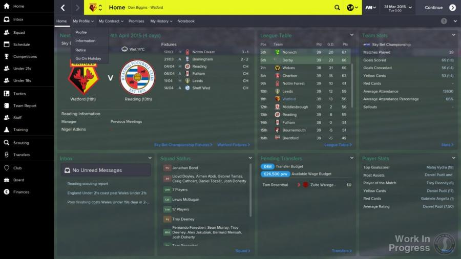 Football Manager 2015 Screenshot 1
