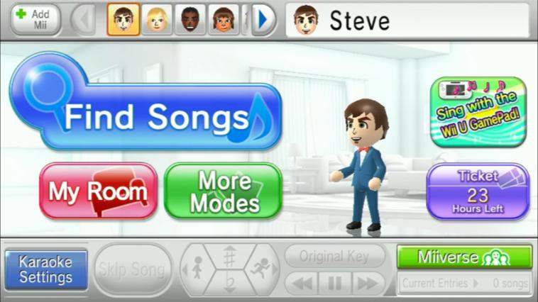 Wii Karaoke U - 24 Stunden Ticket Screenshot 6