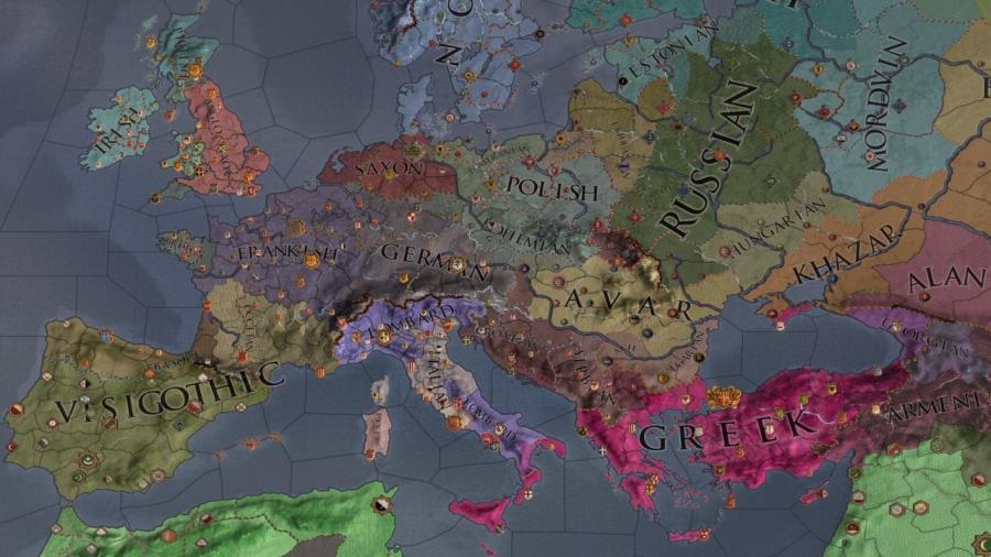 Crusader Kings II - Charlemagne (Addon) Screenshot 4
