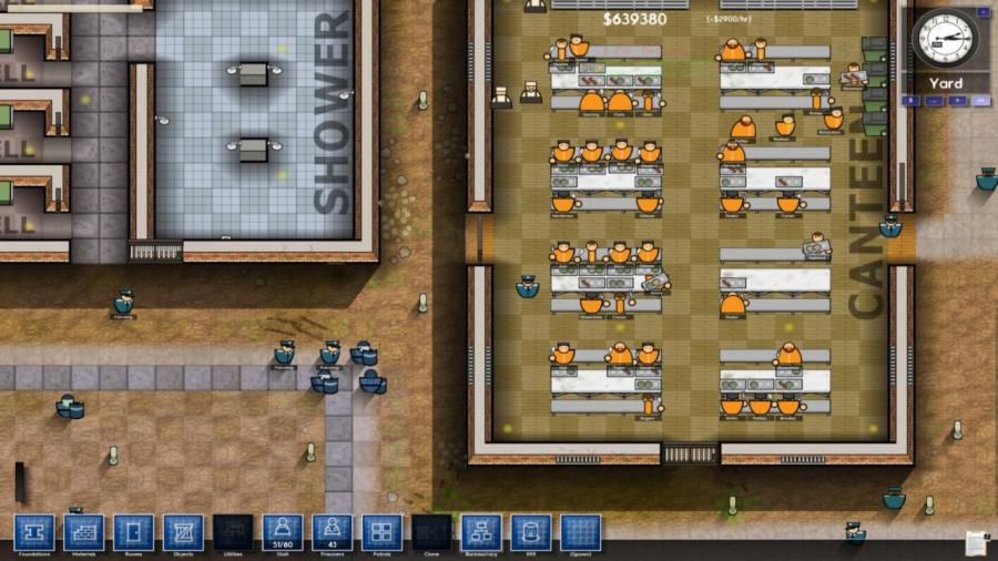 prison architect kaufen pa steam gift key mmoga. Black Bedroom Furniture Sets. Home Design Ideas