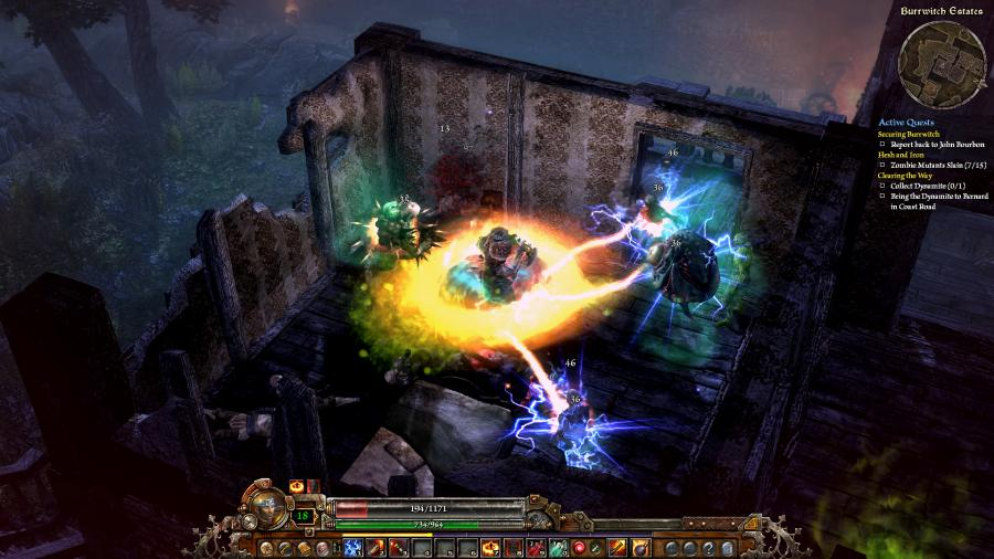 Grim Dawn - Steam Geschenk Key Screenshot 1