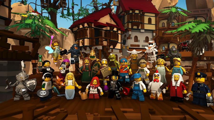 Lego minifigures online - awesome pack screenshot 1