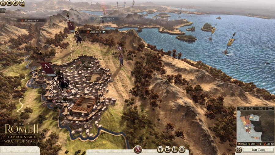 Total War Rome 2 - Wrath of Sparta DLC Screenshot 2