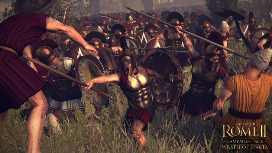 Total War Rome 2 - Wrath of Sparta DLC Screenshot 6