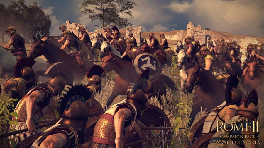 Total War Rome 2 - Wrath of Sparta DLC Screenshot 3