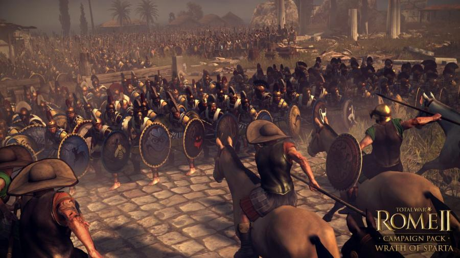 Total War Rome 2 - Wrath of Sparta DLC Screenshot 5