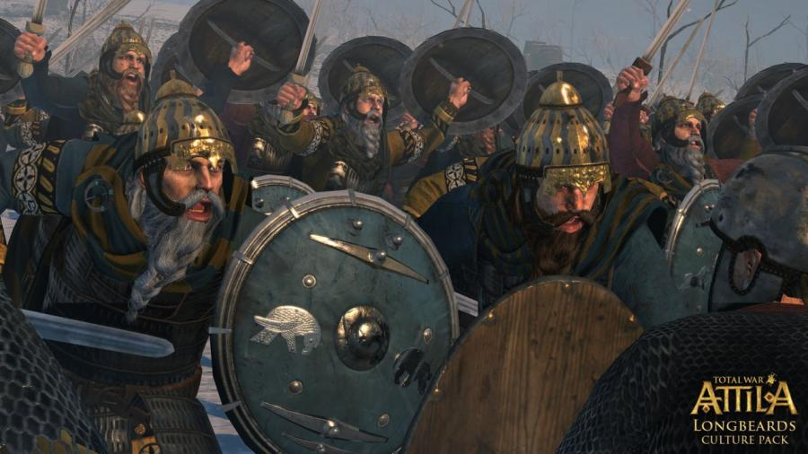 Total War Attila - Longbeards Culture Pack (DLC) Screenshot 2