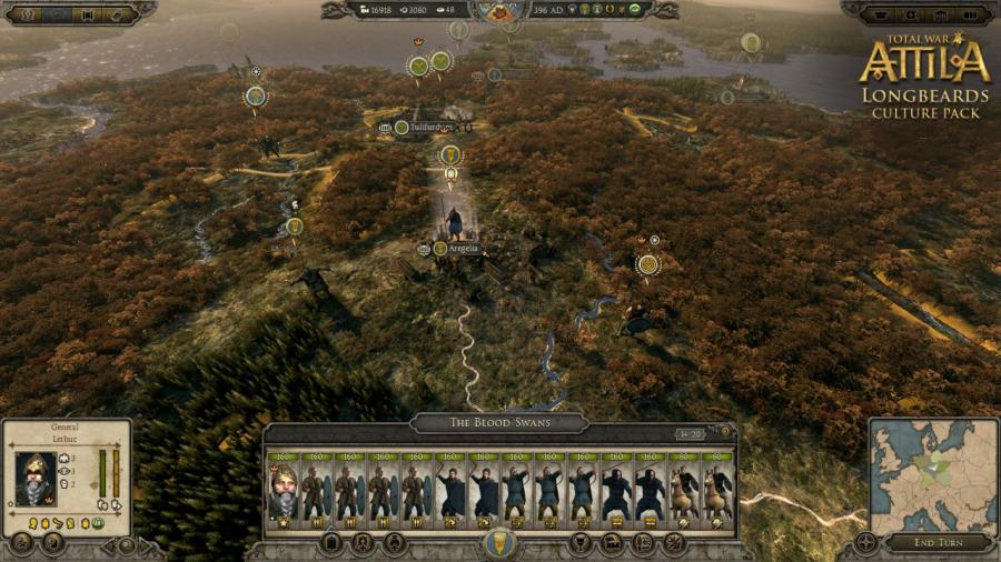 Total War Attila - Longbeards Culture Pack (DLC) Screenshot 7
